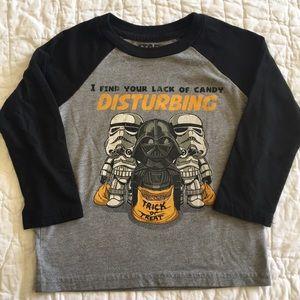 Star Wars Halloween Raglan Shirt